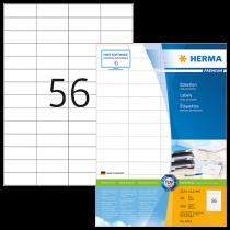 Etiketter Herma Premium 52,5x21,2 mm 5600/fp