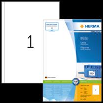 Etiketter Herma Premium 200x297 mm 100/fp