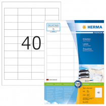 Etiketter Herma Premium 48,5x25,4 mm 4000/fp