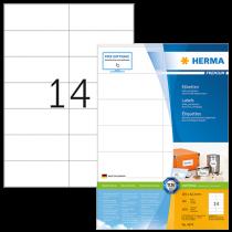Etiketter Herma Premium 105x42,3 mm 1400/fp