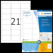 Etiketter Herma Premium 63,5x38,1 mm 2100/fp
