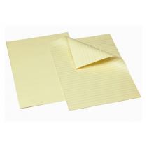 Examenspapper Bantex A3 vikt linjer 11,5mm 250/fp gult