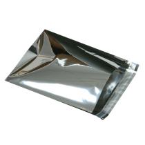 Foliepåse silver 120x160+30mm 100/fp