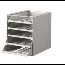 Blankettbox IDEALBOX BASIC 5 f grå
