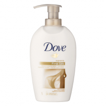Pumptvål Dove Cream Wash Silk 250ml