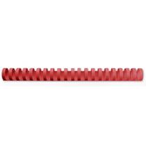 Spiralinbindning 6mm röd 100/fp