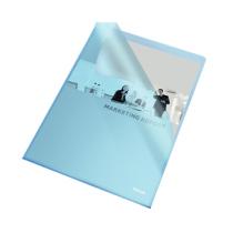 Aktmapp Esselte PP A4 10/fp blå