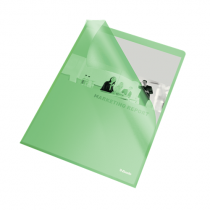 Aktmapp Esselte PP A4 10/fp grön