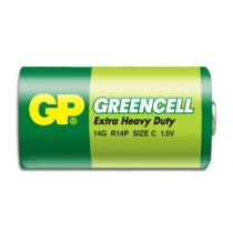 Batteri GP Greencell Brunsten R14