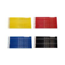 Färgpenna Faber-Castell 12/fp svart
