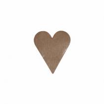 Etikett Hjärtan Silver 22x25 1000st/rl