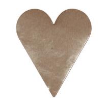 Etikett Hjärtan Silver 26x42 1000st/rl