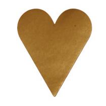 Etikett Hjärtan Guld 26x42 1000st/rl