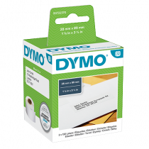 Adressetikett Dymo LabelWriter 89x28 mm 2/fp